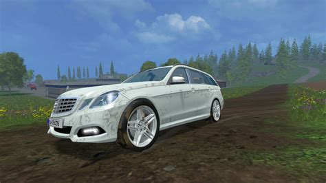 Mercedes V Class Modification by Mercedes E Class V 1 0 Farming Simulator Modification
