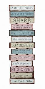 DIY Pallet Family Rules Sign The ART In LIFE