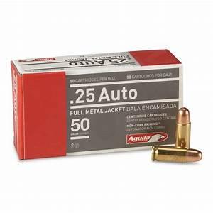 Automobile 25 : aguila 25 auto fmj 50 grain 50 rounds 649021 25 acp ammo at sportsman 39 s guide ~ Gottalentnigeria.com Avis de Voitures