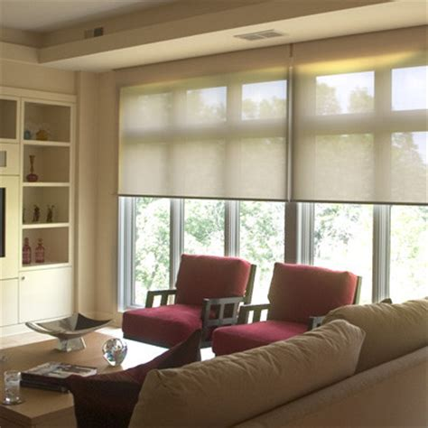 roller blinds  shades traditional living room