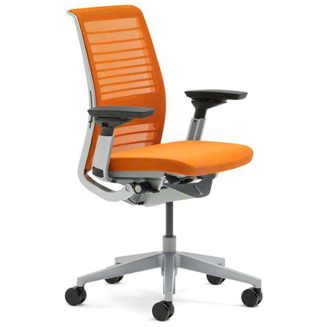Steelcase Upholstery by Shop Steelcase Think Chairs With 3d Knit Back