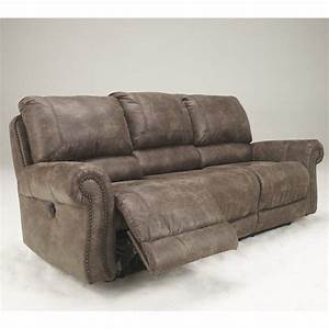 signature design by ashley furniture oberson microfiber With microfiber reclining sofa