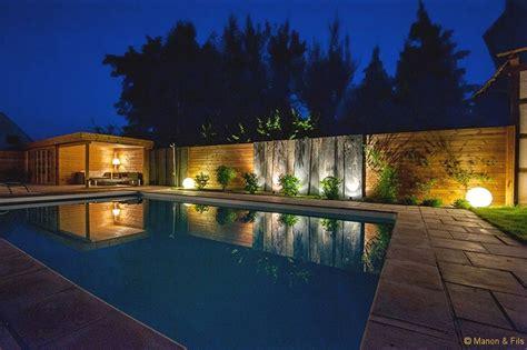 eclairage de terrasse exterieur eclairage jardin sarl manon et fils