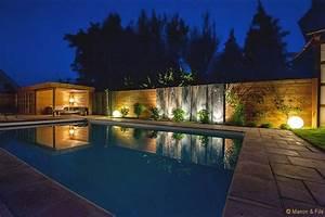 Eclairage Exterieur Piscine : eclairage jardin sarl manon et fils ~ Premium-room.com Idées de Décoration