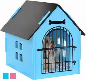 royal craft wood dog house crate indoor kennel review With top paw dog house door