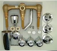 Two Handle Tub And Shower Faucet by Three Handle Tub Shower Faucet Sets Three Affordable Designs Retro Renova
