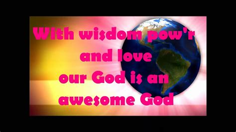 awesome god children s worship song 593   maxresdefault