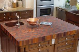 Copper Sinks With Drainboards by Countertops And Butcher Blocks Grothouse Custom Wood