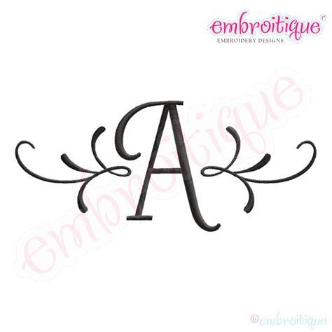 embroitique adams accent monogram font set