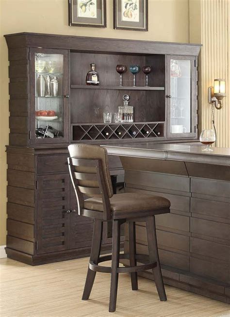 toscana  bar  hutch home bars home bar  game room furniture home bar