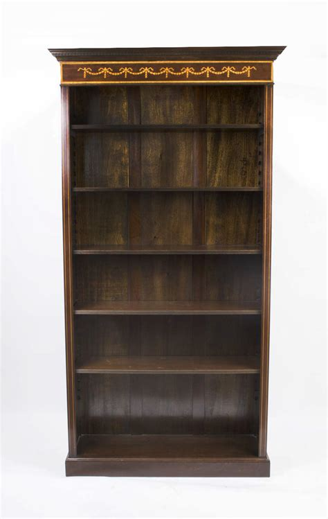 Bookcase Styles by Regent Antiques Bookcases Sheraton Style Open Bookcase