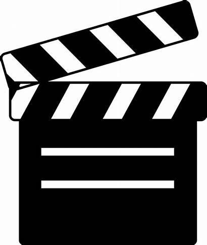 Icon Clapperboard Films Svg Numbering Scenes Onlinewebfonts