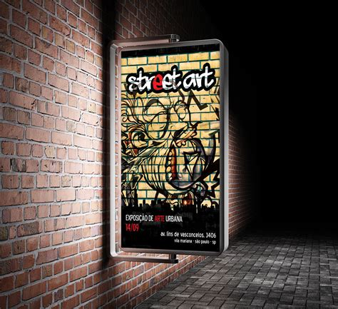 poster psd mockup    outdoor promotion