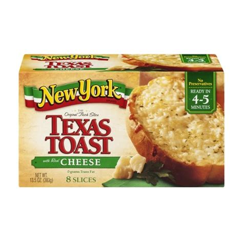 New York Brand Thick Slice Texas Toast With Real Cheese