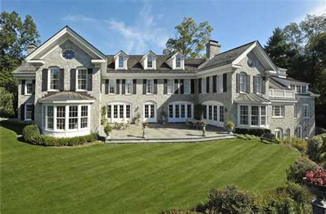 million georgian colonial  greenwich ct homes