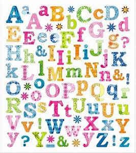 sticker king clear stickers tropical letters With scrapbook letters