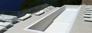 Beton Ciré Piscine : terrasse piscine en beton cire ~ Melissatoandfro.com Idées de Décoration