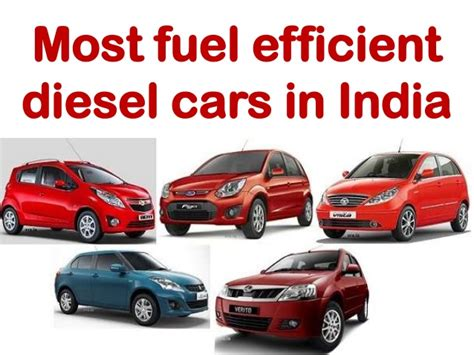 fuel efficient diesel cars  india
