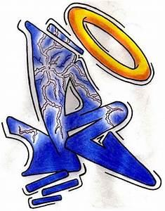 3D Floxer > Graffiti Alphabet Letter R