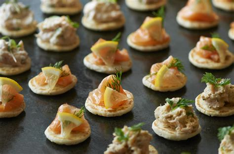 canapes recipes smoked salmon recipes archives the ross jr