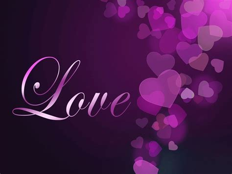 See more ideas about love backgrounds, love wallpaper, heart wallpaper. Purple Heart Wallpapers - Wallpaper Cave