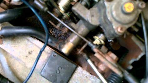 carburetor adjustment daihatsu hijet sp japanese