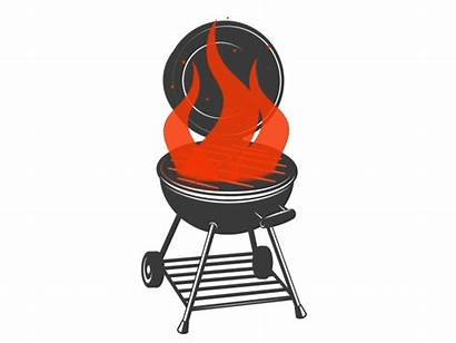Grill Animation Fire Bbq Barbecue Vector Dribbble