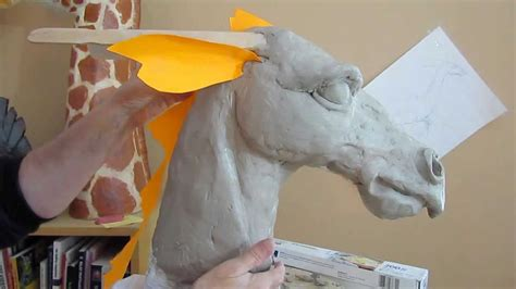 paper mache dragon  clay head form youtube