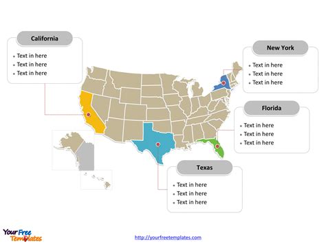 powerpoint map templates free usa powerpoint map free powerpoint templates