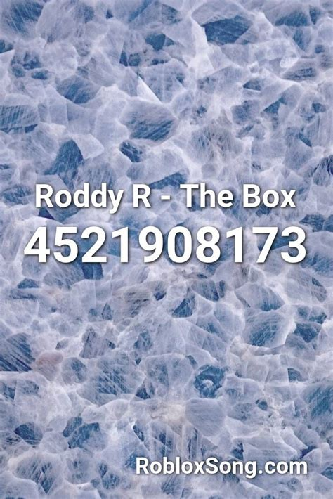 You can find the code of most favorited songs on the home page, or you can find the song you want by entering the title into the search box. Roddy R - The Box Roblox ID - Roblox Music Codes in 2020 | Roblox, Psy gentleman, Songs