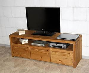 Tv Möbel Lowboard : massivholz tv lowboard tv m bel fernsehschrank rustikal antik gewachst ~ Markanthonyermac.com Haus und Dekorationen