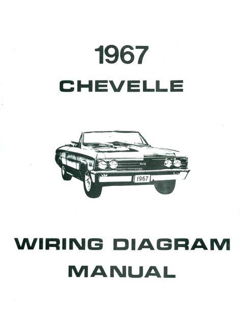 Chevelle Camino Wiring Diagram Manual Ebay
