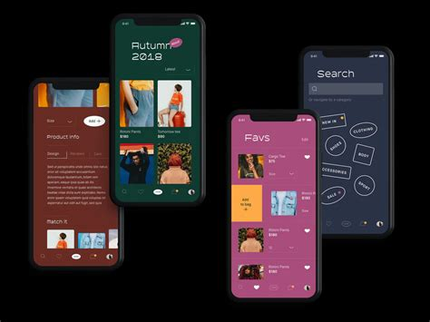 biggest app design trends     images