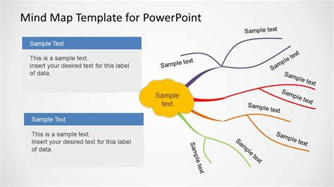 powerpoint map templates creative mind map template for powerpoint slidemodel
