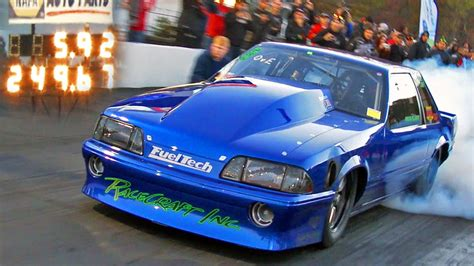 fueltech race cars lights out 7 fiscus klugger go 5 92 on drag radials with stock