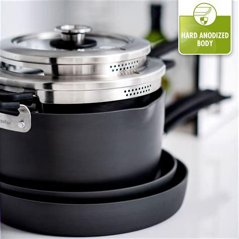 stackable cookware nonstick greenpan levels piece