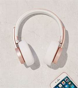 Casque Audio Long Fil : casque audio sans fil urbanista gold pink ~ Edinachiropracticcenter.com Idées de Décoration