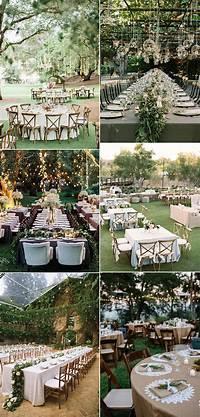 trending patio table decor ideas 30 Totally Breathtaking Garden Wedding Ideas for 2017 ...