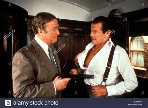 roger moore director michael caine roger moore bullseye stock photos michael