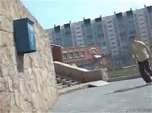 Parkour fail - Full screen | Best Funny Gifs And Animated ...