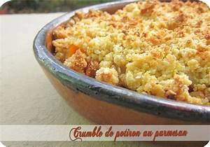 Crumble Salé Parmesan : crumble de potiron au parmesan pices douces cuisine ~ Nature-et-papiers.com Idées de Décoration