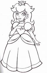 Peach Princess Colouring Coloring Printable Sheapeterson sketch template