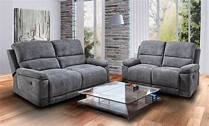 Relaxsofa 2 Sitzer : funktionssofa mit relaxfunktion klappsofa relaxsofa 2 sitzer couch sofa 36334 ebay ~ Watch28wear.com Haus und Dekorationen