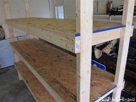 wood shelf garage organize heavy duty strong