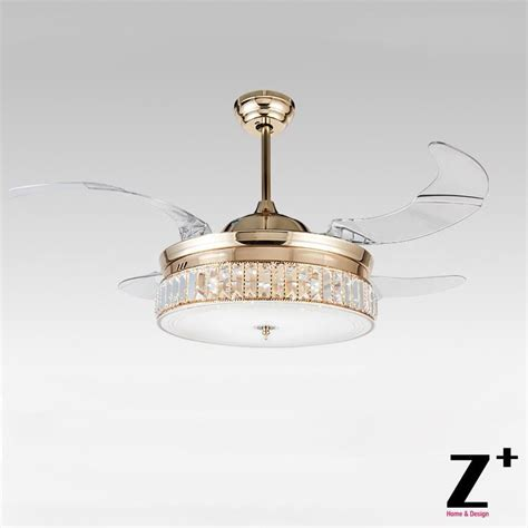 hue bulbs for ceiling fan american modern style led lights 4 collapsible fan crystal
