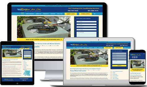 web design virginia hvac website design northern virginia netqwik web design