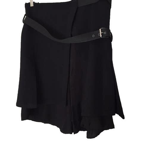comptoir des cotonniers jupe jupes comptoir des cotonniers jupe noir ref 35239