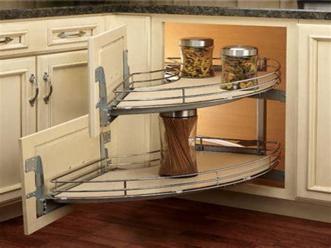 Corner Shelves On Kitchen Cabinets, Kitchen Blind Corner