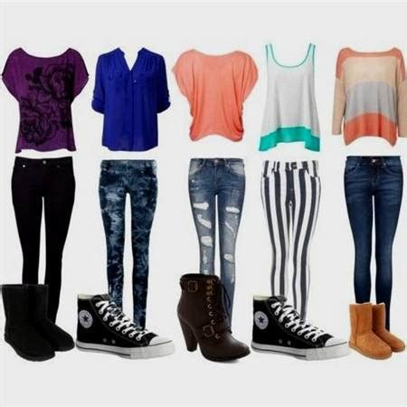 Cute clothes for girls in middle school in winter 2017-2018 | NewClotheShop