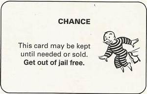 monopoly get out of jail free card templatethey39re With get out of jail free card template